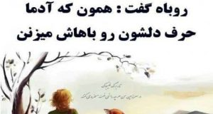 عکس نوشته سخنان شازده کوچولو و روباه,love4.ir,عکس,نوشته,سخنان,شازده,کوچولو,و,روباه,