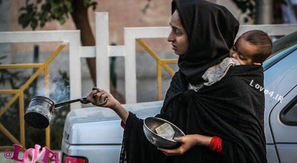 تصاویر زنان متکدی در تهران,زن متکدی, گدایی, تکدی گری, زن, معضل, خیابان, گزارش تصویری