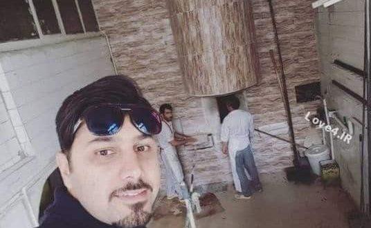 عکس احسان خواجه امیری در یک نانوایی سنگکی در آمریکا,اینستاگرام احسان خواجه امیری,بیوگرافی احسان خواجهامیری,نان سنگک,آخرین اخبار