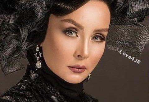عکس حدیث فولادوند به عنوان مدل آرایشی