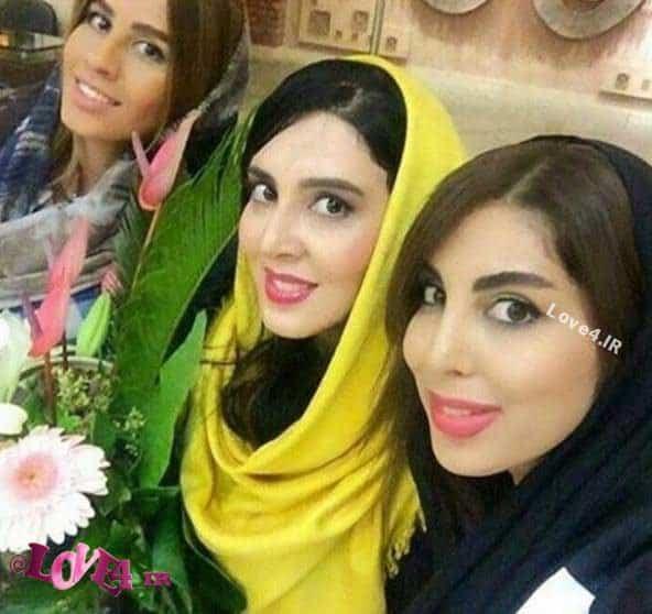 عکس لیلا بلوکات در کنار خواهرانش