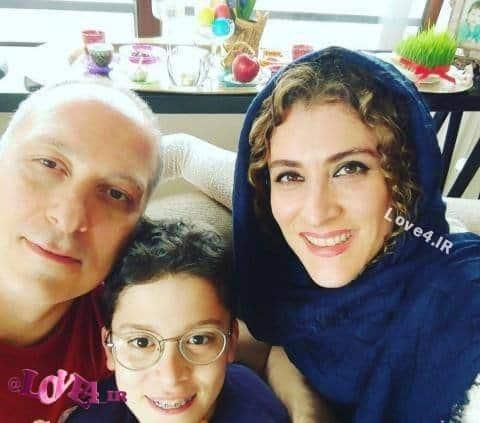 عکس ویشکا آسایش کنار همسر و پسرش در نوروز 96
