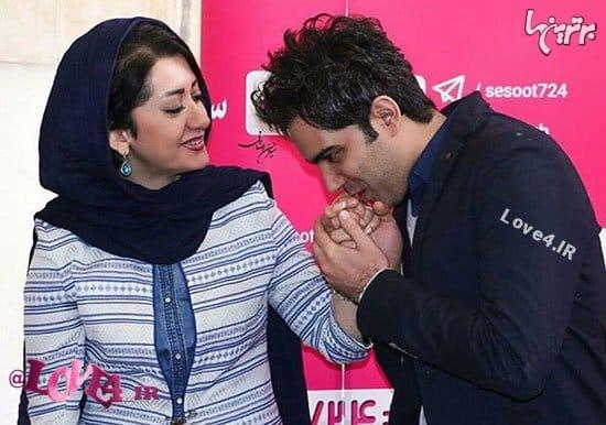 اخبار سرگرمی, امیر علی نبویان, همسر