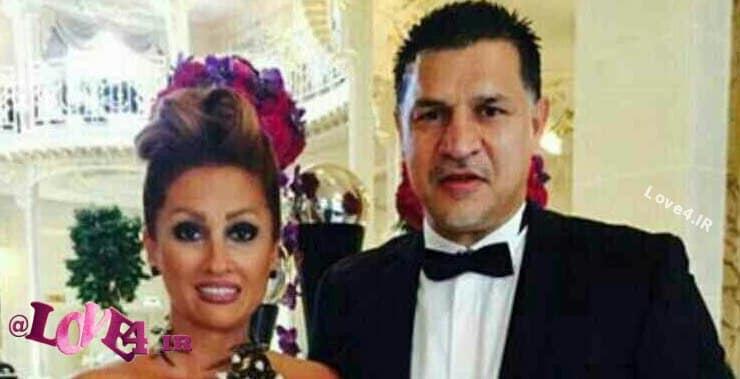 عکسهای جدید و دیده نشده علی دایی و همسرش