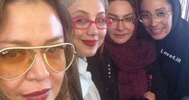 عکس بازیگران زن ایرانی دور سفره هفت سین