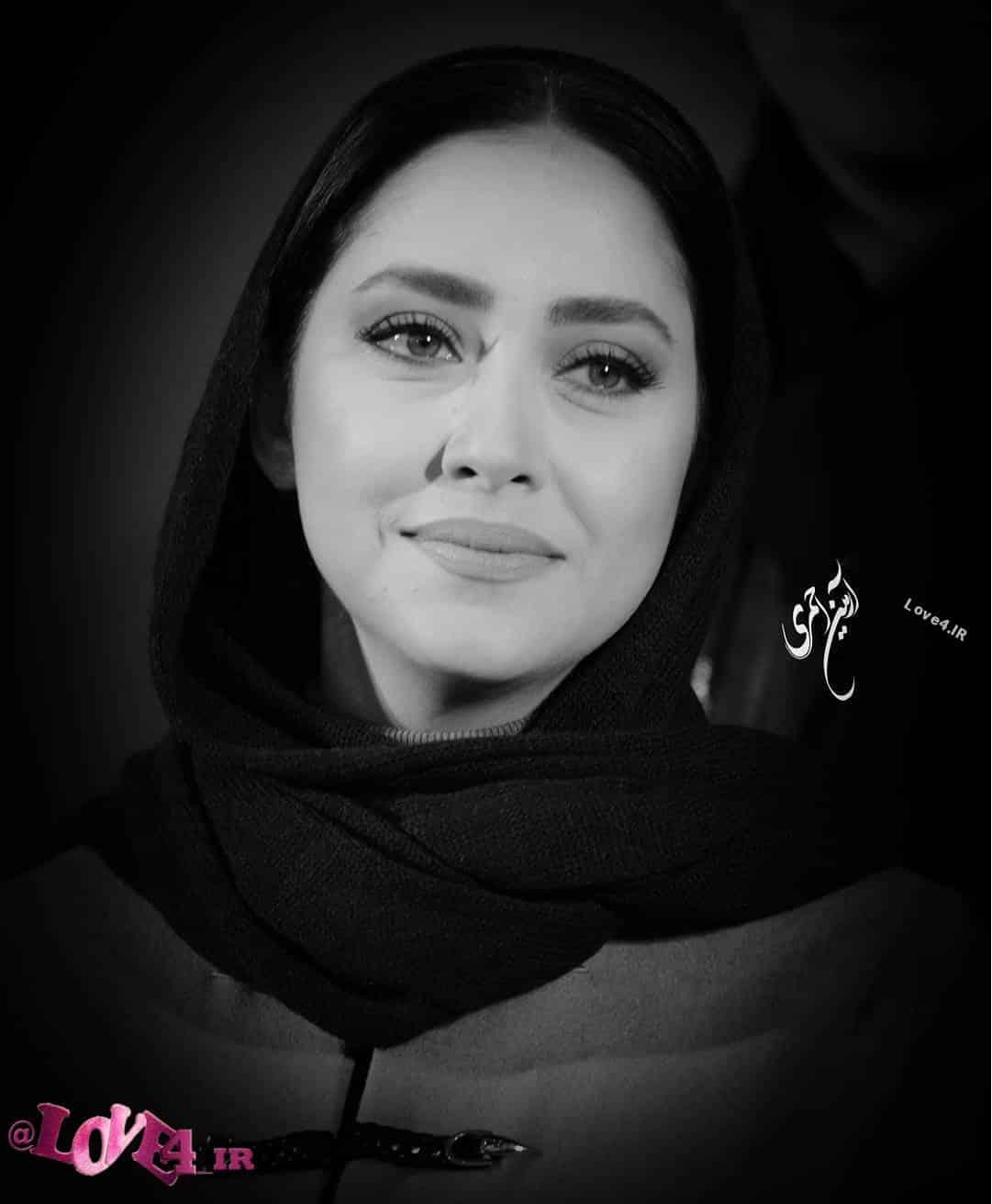 عکس سیاه و سفید بهاره کیان افشار