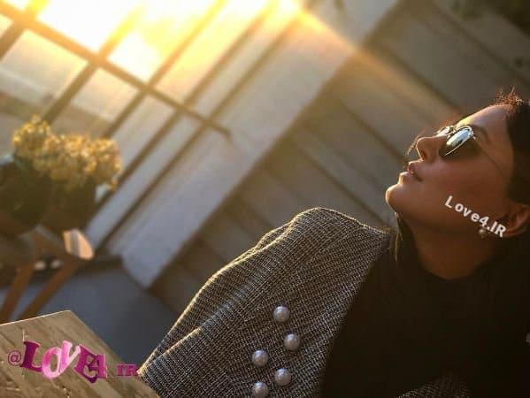 بازیگر زن مشهور ایرانی به کجا مینگرد؟! +عکس