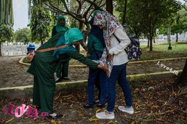 گشت ارشاد در اندونزی +تصاویر