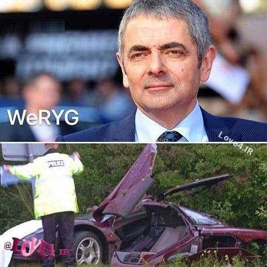 علت درگذشت مستربین بر اثر تصادف رانندگی + عکس