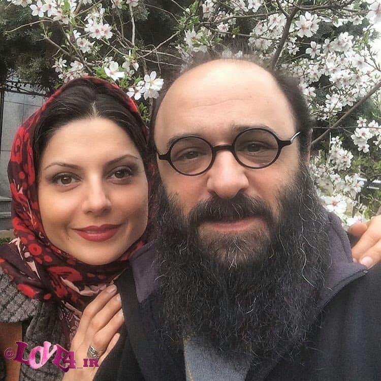 سولماز غنی,عکس سولماز غنی همراه با همسرش,عکس سولماز غنی