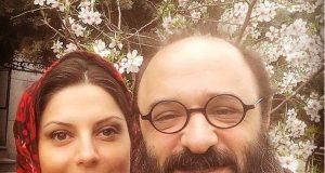 ولماز غنی و همسرش