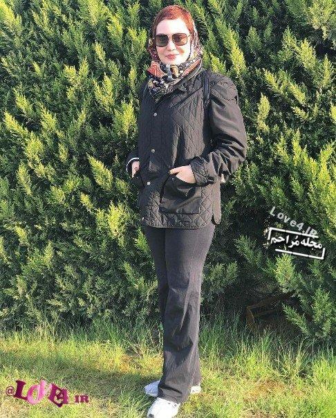 عکسهای آرام جعفری و همسرش نوروز ۹۶