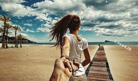 تصاویر عاشقانه و ناب دونفره  عکس عاشقانه زن و شوهرهای با احساس