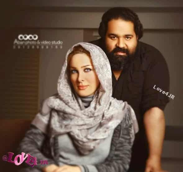 سالگرد ازدواج رضا صادقی و همسرش +عکس