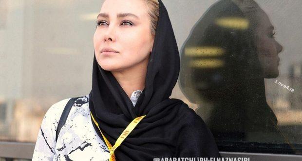 ژست و تیپ جدید خانم بازیگر در جشنواره جهانی فیلم