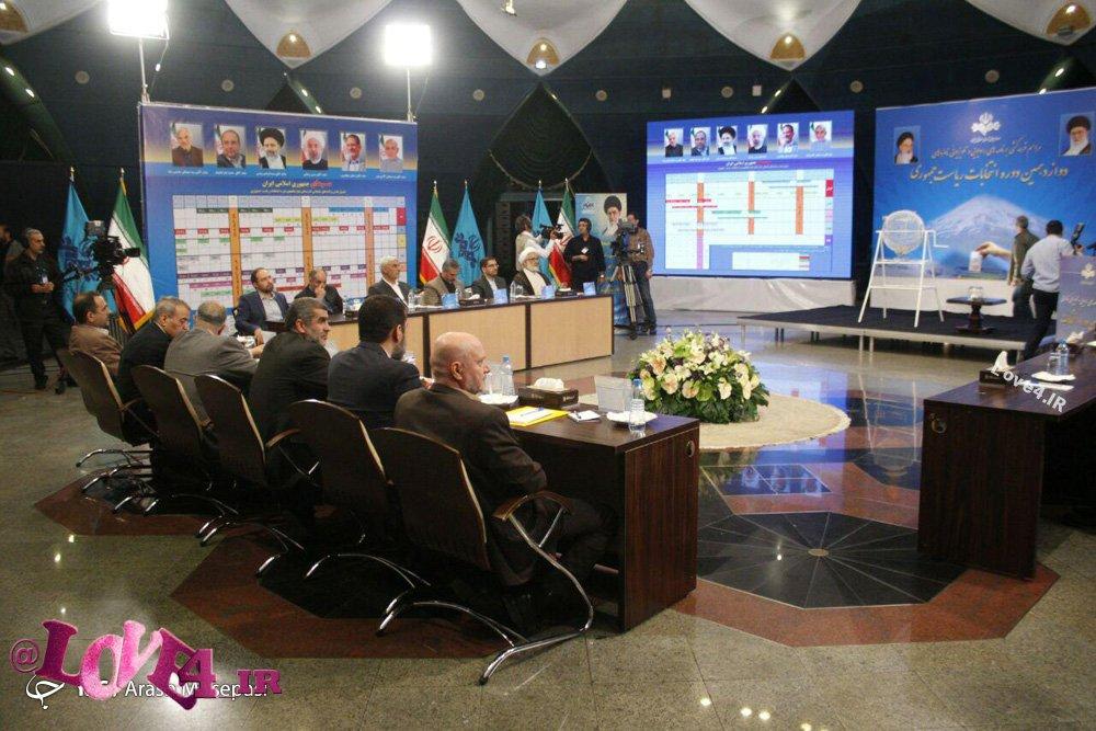 جدول زمانبندی پخش برنامه مناظره انتخاباتی ریاست جمهوری ۹۶ در صداوسیما