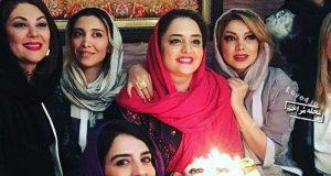 تصاویر جشن تولد نرگس محمدی در 32 سالگی