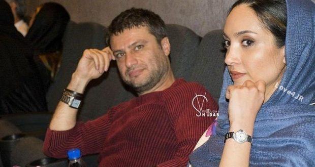 خاطره اسدی و شهرام حقیقت دوست در اکران فیلم نقطه کور