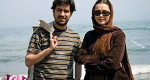 عکس دیده نشده ترانه علیدوستی و شهاب حسینی در ساحل