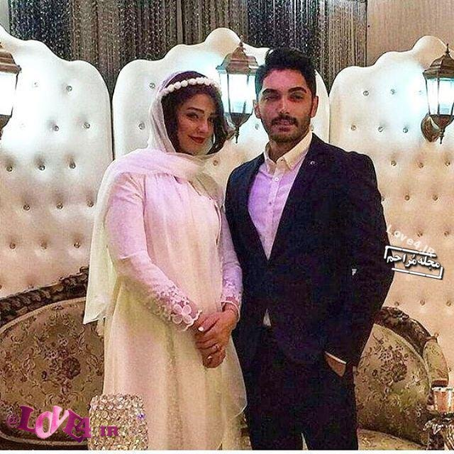 تصاویر ازدواج سیما خضرآبادی بازیگر علی البدل