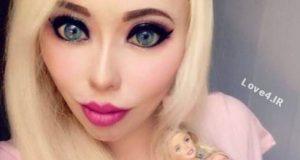 دختر زیبا با عمل هاي جراحی شبیه عروسک باربی شد