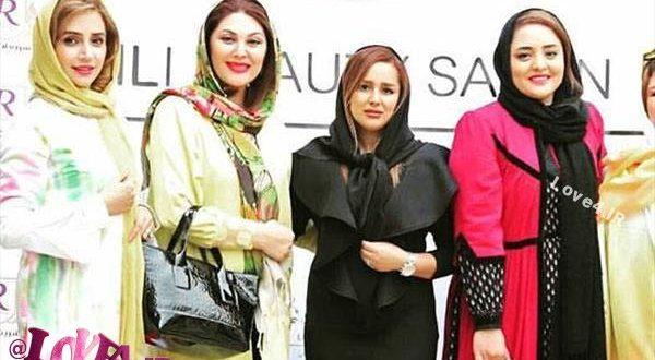 عکس بازیگران زن ایرانی در سالن زیبایی 96