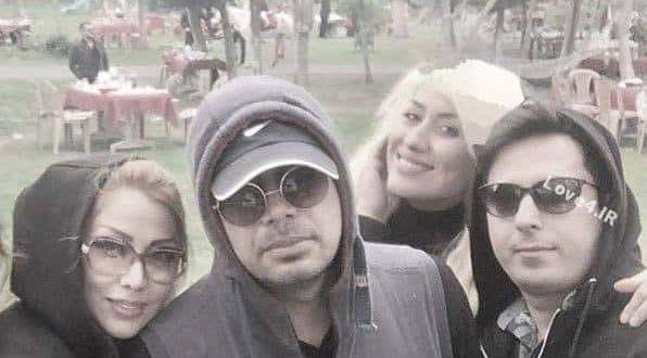 عکس محسن چاوشی کنار همسرش اسپاکو یوسفی