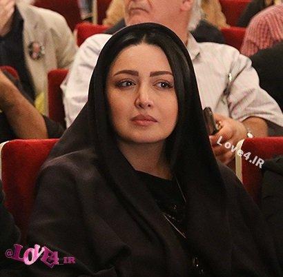 تصاویر از تیپ مشکی شیلا خداداد و همسرش در چهلم علی معلم