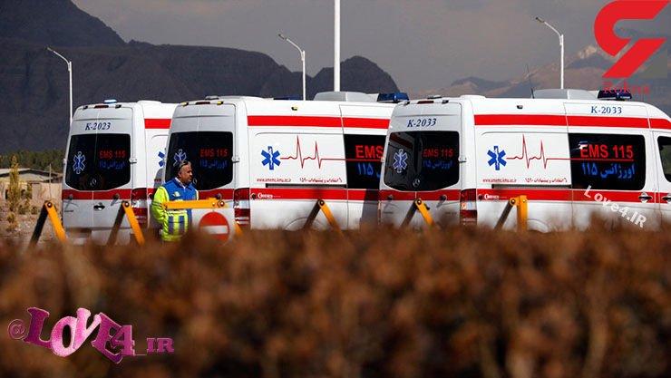 دلیل سیلی محکمی که مامور اورژانس از زن نجات یافته خورد