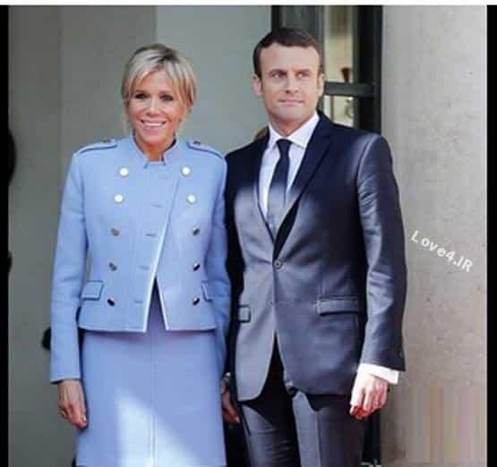ماجرای لباس های اجاره ای مکرون و همسرش