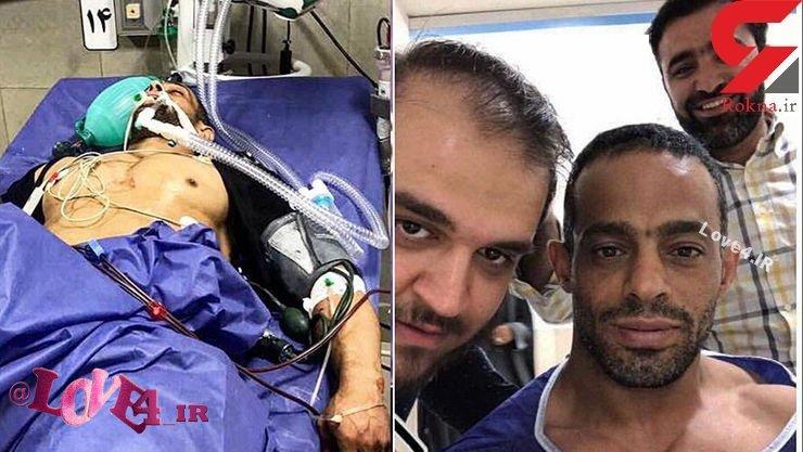 سکته عادل باوی قهرمان پرورش اندام در اهواز + عکس و آخرین وضعیت
