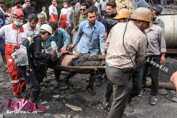 آمار کشته های معدن زغال سنگ آزادشهر گلستان