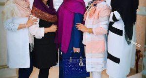 دورهمی نیوشا ضیغمی با دوستانش +اینستاگرام