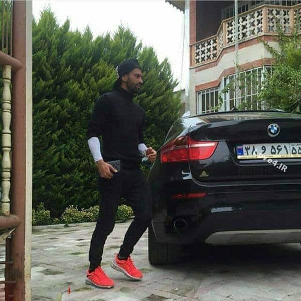 عکس خودروهای لوکس رامین رضاییان فوتبالیست