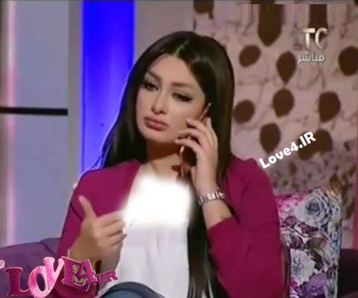 طلاق مجری زن در برنامه زنده توسط همسرش +واکنش هبه الزیاد