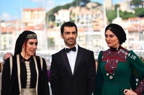 تیپ و مدل لباس سودابه بیضایی و نیسیم ادبی در فرش قرمز جشنواره کن 2017