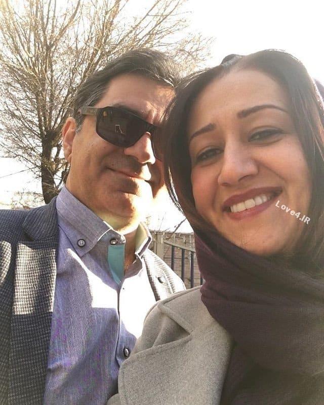 سلفی جدید فاطمه هاشمی کنار همسرش