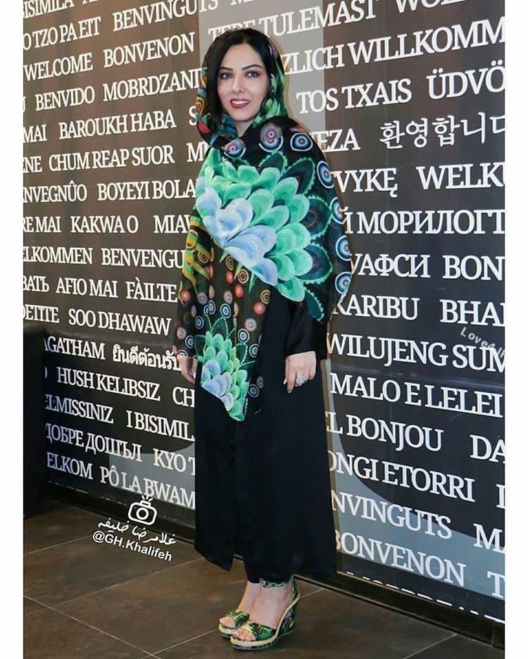 مدل لباس جدید لیلا اوتادی در اکران فیلم آشوب
