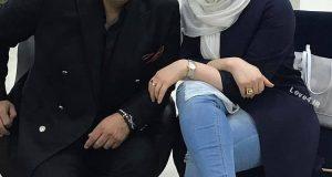 ژست جالب مهراوه شریفی نیا در مراسم افتتاحيه برجهاى دوقلو کیش