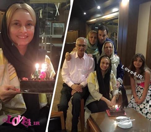 جشن تولد مریم کاویانی در منزل شخصی