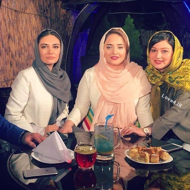 عکس دیده نشده نرگس محمدی کنار لیندا کیانی و مریم اسدی