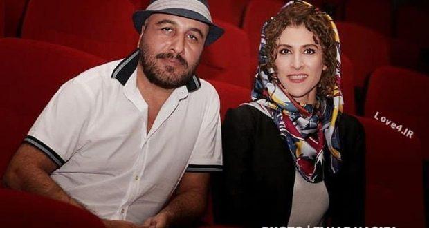 ژست جذاب ویشکا آسایش و رضا عطاران در افتتاحیه پرديس مگامال