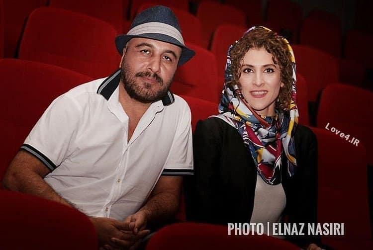 ژست جذاب ویشکا آسایش و رضا عطاران در افتتاحیه پردیس مگامال