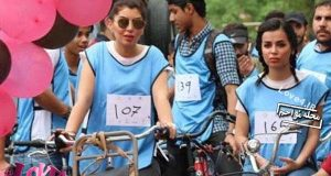 دوچرخه سواری همگانی مختلط در بغداد +تصاویر