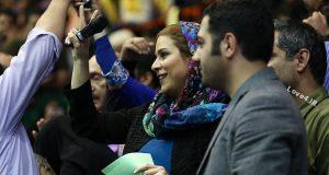 تصاویر سحر دولتشاهی در همایش حامیان روحانی +چه سخنانی گفت؟