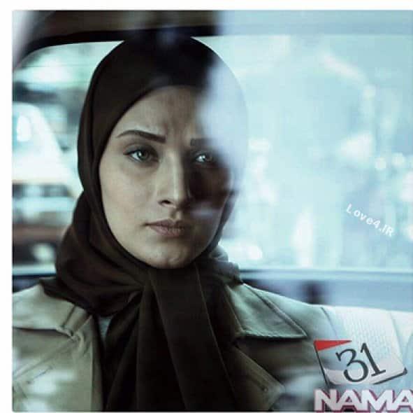 عکس های ساناز سعیدی بازیگر زن سریال نفس