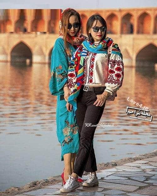حجاب توریست های خارجی در ایران