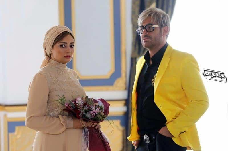تیپ محمدرضا گلزار در فیلم آینه بغل