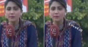 فیلم مرگ خبرنگار زن جوان در اجرای زنده