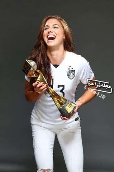 بیوگرافی و عکسهای الکس مورگان فوتبالیست زن منچستر